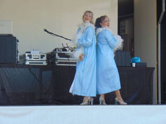 Fête communale 2018 Spectacle costume bleu